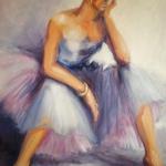 -SOLD -Between Dances, oil on canvas