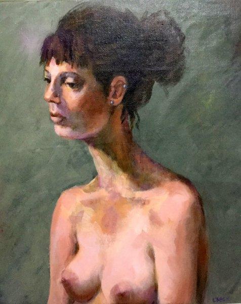 Ailia, oil on canvas, 45cm x 60cm