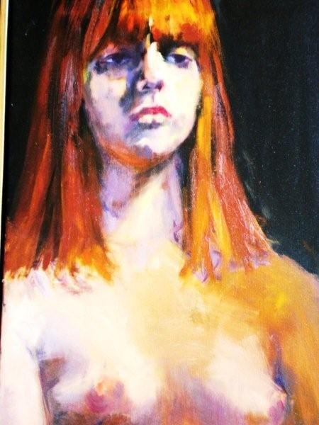 - SOLD - Susannah, oil on canvas