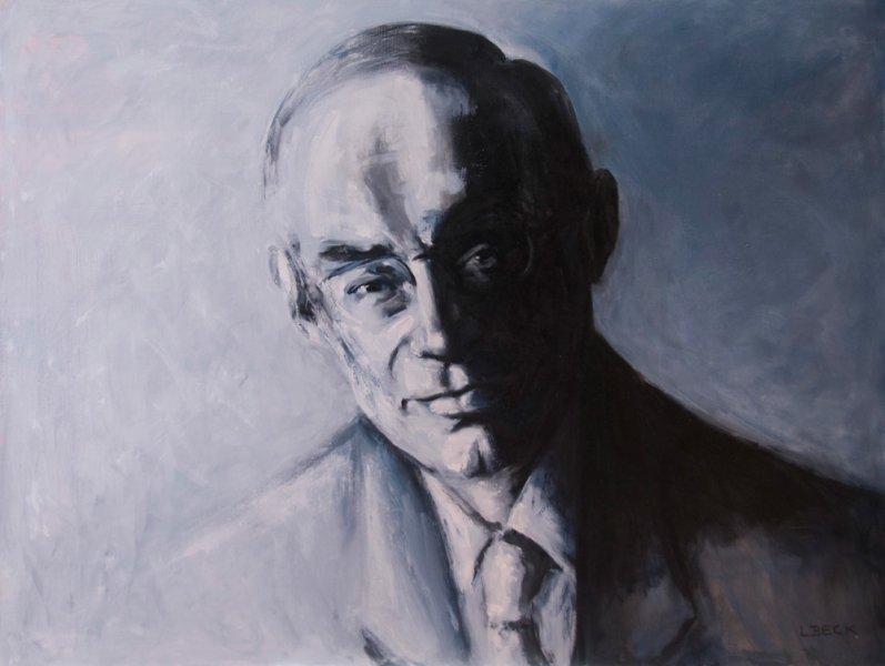 Bob Carr, oil on canvas