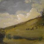 The Long Sky, oil on canvas