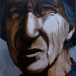 Col James - architect and visionary - oil on canvas  - 90cm x 120cm