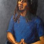 Exodis, oil on canvas, 90cm x 120cm