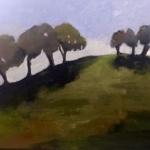 - SOLD - Sydney Park oil on canvas