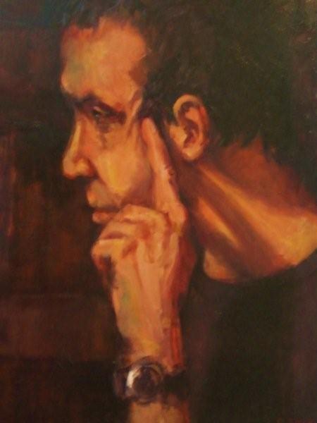 Simon, oil on canvas