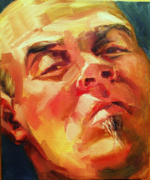 Tomas K Arnold - artist and innovator, oil on canvas    ,
