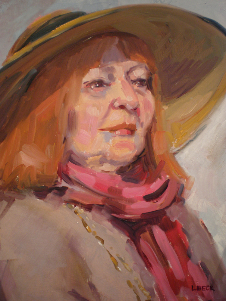Our Margaret, oil on canvas