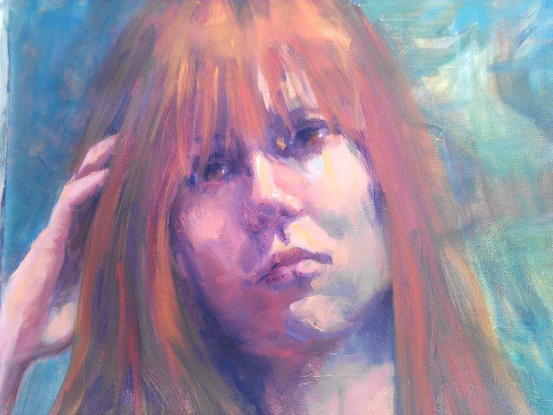 SOLD -Susannah 1, oil on canvas
