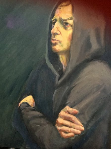 The Grey Hoodie , Finalist in the Percival Tucker Portrait Prize 2018 The Grey Hoodie, 60cm x 55cm, oil on canvas.  Finalist in the Percival Portrait Prize 2018