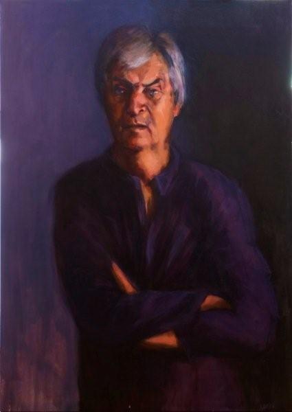 Nick Vickers - Curator Delmar Gallery - oil on canvas