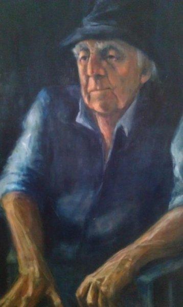 Fred Egan Artist,oil on canvas, 90cm x 60cm. Awarded V Highly Commended in 2013 Drummoyne Art Prize