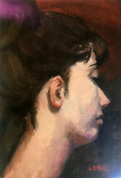 -SOLD - Ailia 11, oil on canvas. 40cm x 50cm