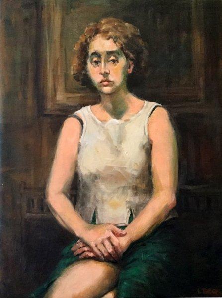 Jasmin-oil on canvas-55cm-x-70cm-650