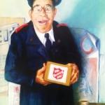 A Good Soul (Maurice Cuffe)  finalist in 2010 Black Swan Portrait Award