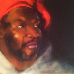 The Red Beret,  Finalist in the 2013  PAA  Multicultural Exhibition