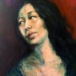 Josephine, oil on canvas, 45cm x 50cm