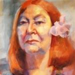 Margaret Wetherell - artist - oil on canvas