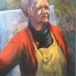 Yolanta Desjardins Artist, oil on canvas, 75cm x 100cm