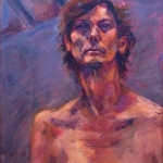 Celia, oil on canvas , First Prize Portraiture, Drummoyne Art Exhibition 2010