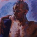 Hank, oil on canvas