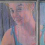 - SOLD - Darcy, oil on canvas, 50cm x 60cm