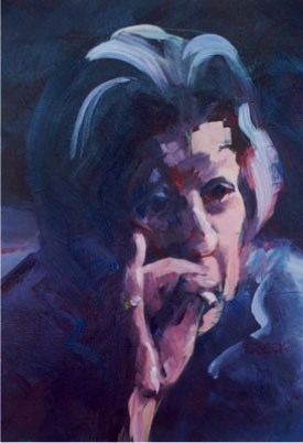 - Sold -The Smoker, oil on canvas