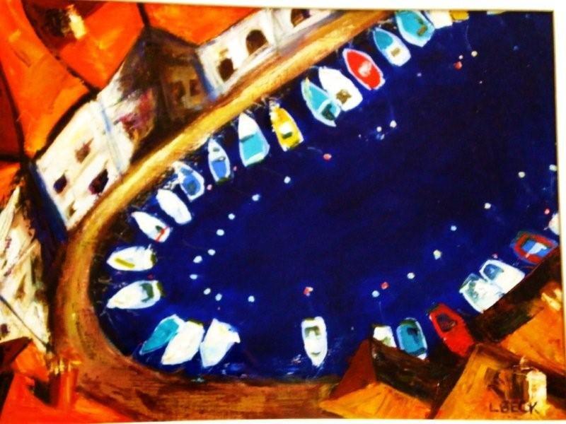 -  SOLD - Pirano Bay, oil on canvas