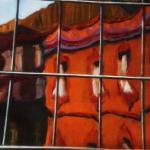 Inner City Glass,  oil on canvas