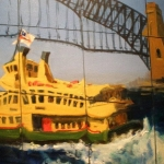 - SOLD - High Waters, oil on canvas- Very Highly Commended Drummoyne Art Society Exhibition 2012