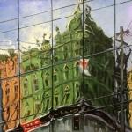 Newtown - My Town,  oil on canvas, 70cm x 60cm