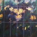Tree City, oil on canvas