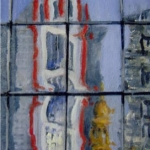 - SOLD - City Glimpses, oil on canvas