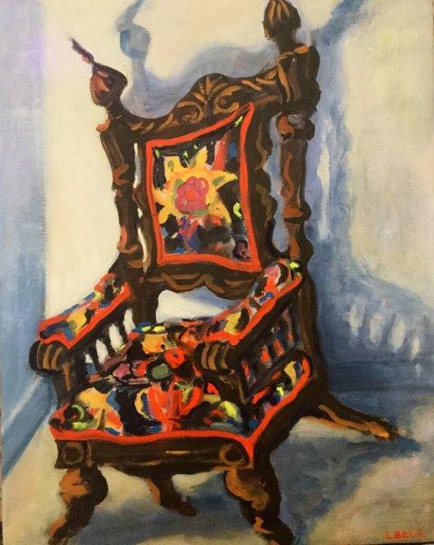 Granny\'s Chair,  50cm x 50cm, $500