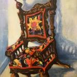 Granny's Chair,  50cm x 50cm, $500